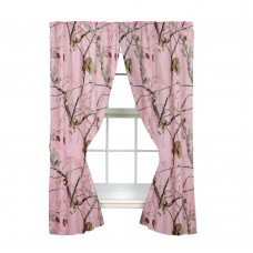 AP Pink Rod Pocket Curtains