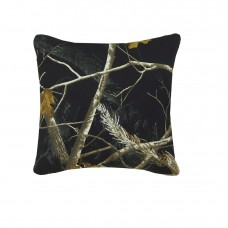 AP Black Square Pillow