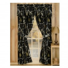 AP Black Rod Pocket Curtains