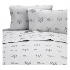 Bone Collector Black Sheet Set