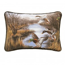 Duck Approach Oblong Pillow - Overall