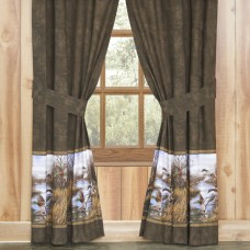Duck Approach Rod Pocket Curtains