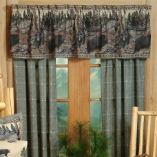 The Bears Rod Pocket Curtains