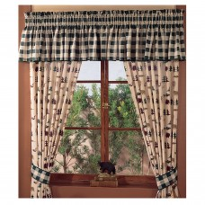 Northern Exposure Rod Pocket Curtains