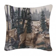 Whitetail Dreams Square Pillow